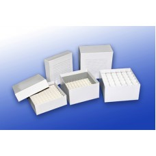 Cardboard Freezer box with 100-cell dividers